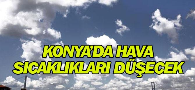 Konya'da Hava Sıcaklıkları Düşecek