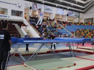 Cimnastikte Trampolin Türkiye Şampiyonları Konya'da belli oldu