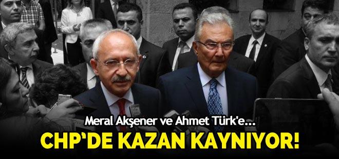 CHP'de kazan kaynıyor! Akşener ve Ahmet Türk'e...