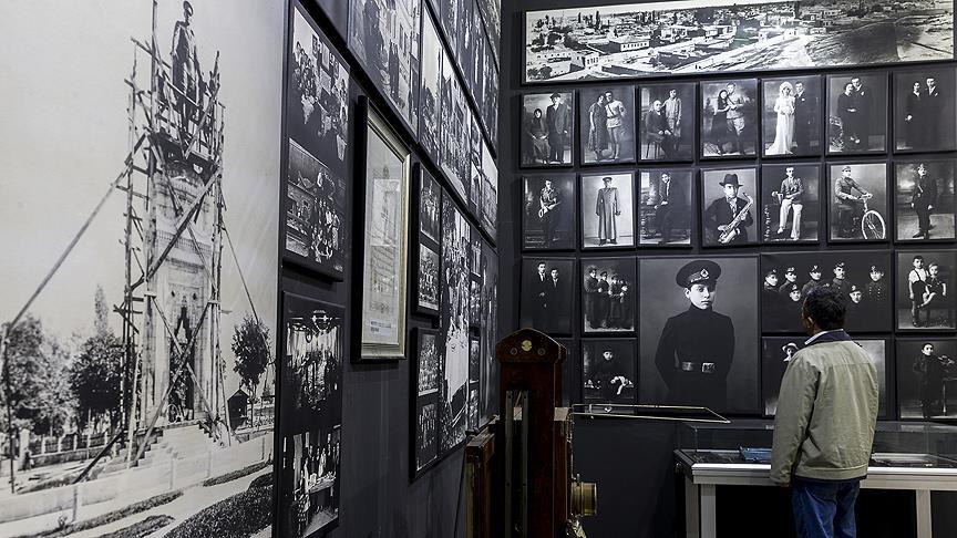 Konya'da fotoğrafın tarihine 'siyah beyaz' yolculuk