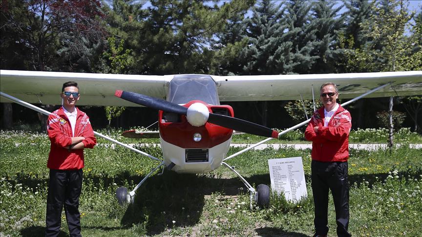 Baba-oğul Türkiye için 'uçacak'