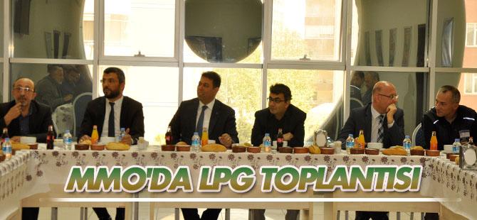 MMO Konya Şubesi LPG sektörünün yetkileriyle bir araya geldi