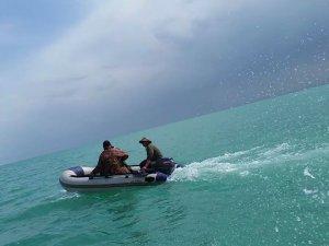 Beyşehir Gölü'nde yasak avlanan balıkçılar yakalandı