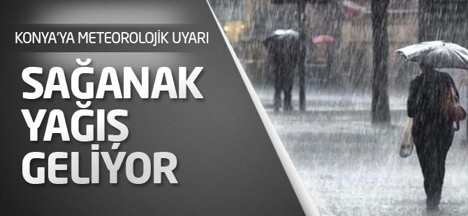Konya'ya yağış yeniden geliyor