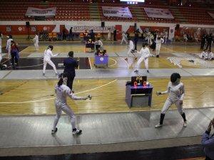 Üniversiteler Eskrim Şampiyonasında Konya'da buluştu