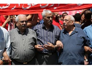 Ürdün'de Filistinli tutuklulara destek yürüyüşü