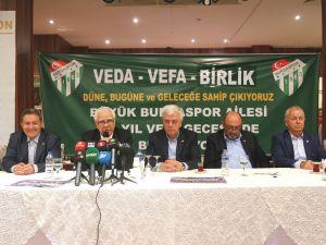 Bursaspor'un kuruluşunun 54. yılı