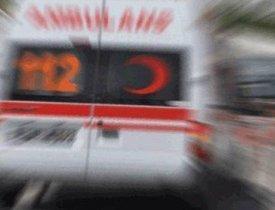 Konya'da ambulans ile otobüs çarpıştı: 3 yaralı