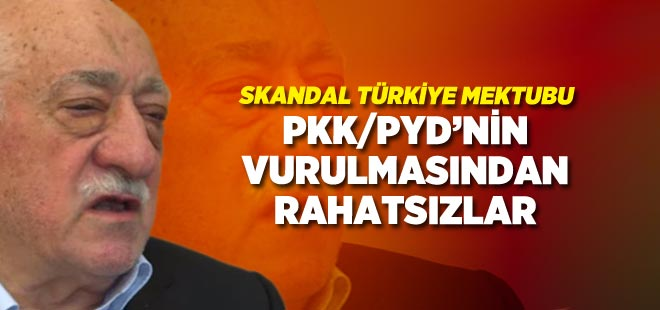 FETÖ'den skandal Türkiye mektubu!