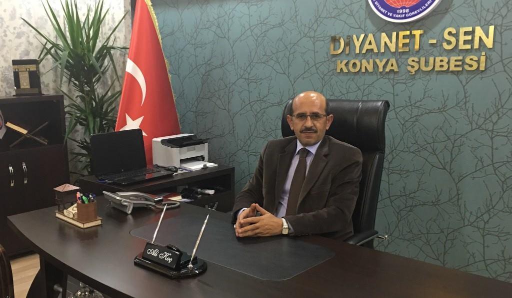 Diyanet-Sen Konya Şubesinden Osman Ünlü'ye Suç Duyurusu