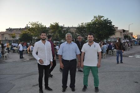 Mustafa Lamcı dostlarıyla iftarda buluştu