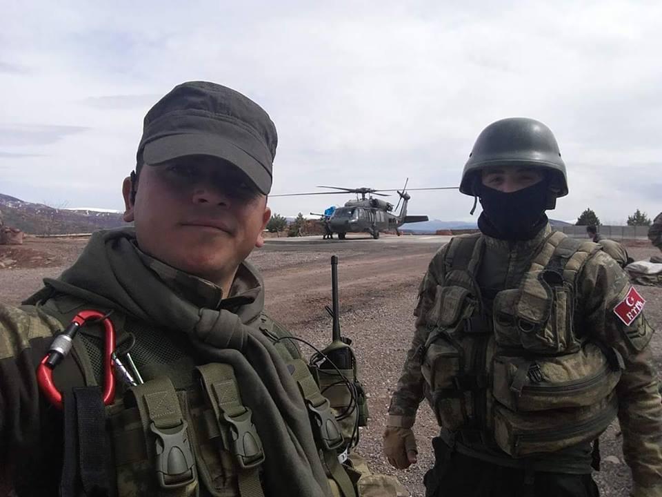 Şehit Jandarma Uzman Çavuş Ahmet Erol memleketine uğurladı