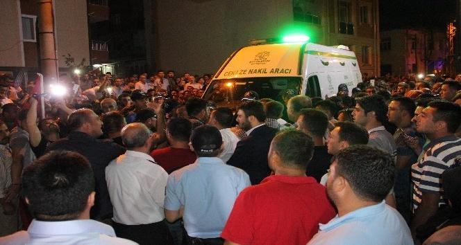Şehit polis Muhammet Ali Dündar babaocağına getirildi
