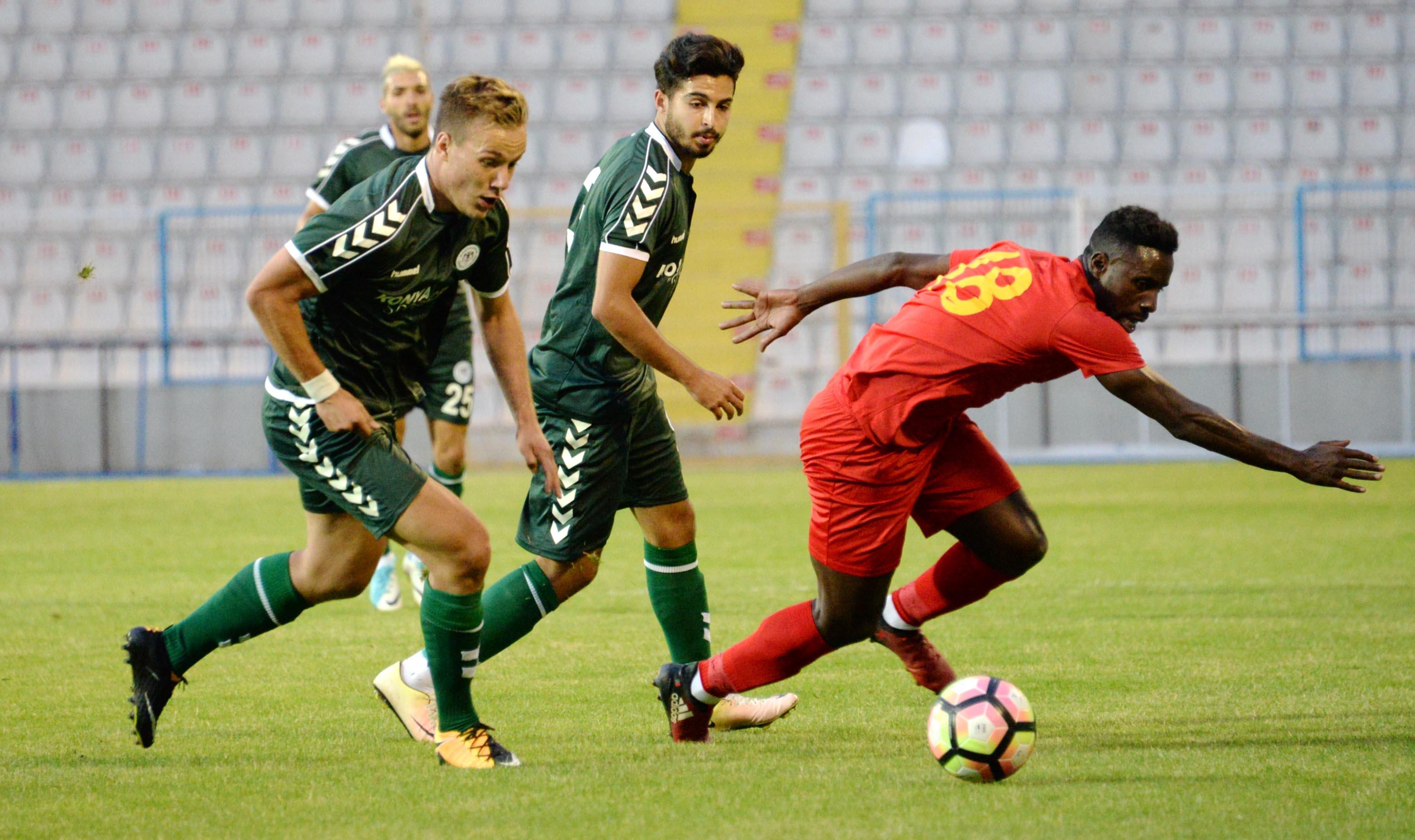 15 Temmuz şehitleri futbol turnuvası:Atiker Konyaspor: 2 - Kayserispor: 1 ÖZET