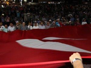 Seydişehir'de 15 TEMMUZ destanı