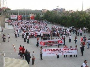 Milli birlik ve beraberlik yürüyüşü