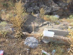 Tuzlukçu'da kaçak kazı operasyonu