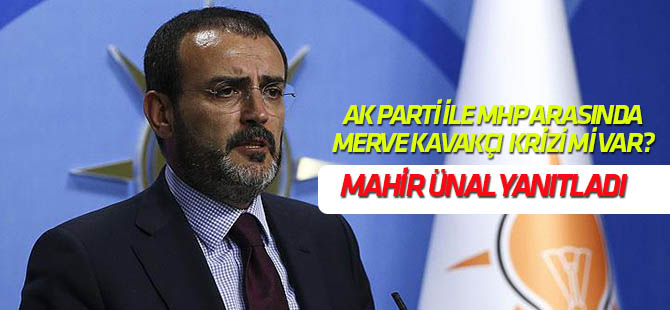 AK Parti ile MHP arasında herhangi bir sorun söz konusu değil