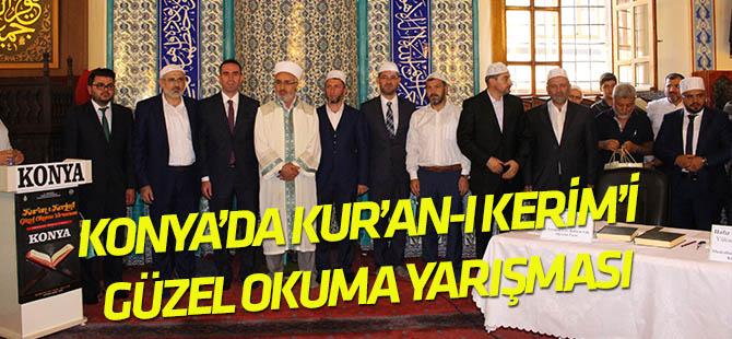 Konya'da Kur'an-ı Kerim güzel okuma yarışması