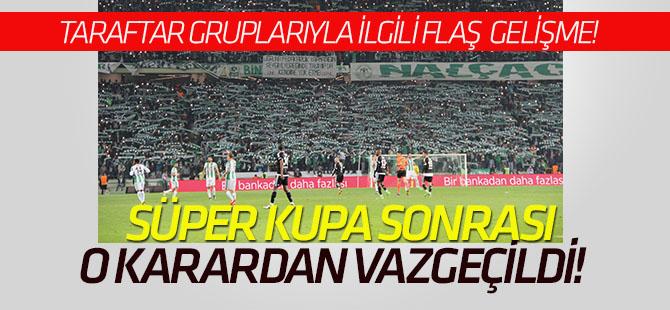 """Konyaspor yönetiminden """"taraftar grupları""""yla ilgili yeni karar"""