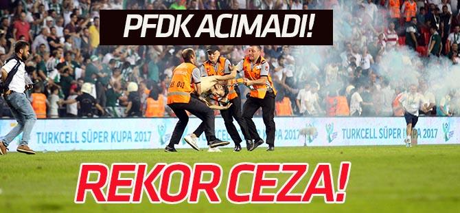 Konyaspor'a 5, Beşiktaş'a 1 maç