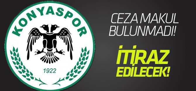 Konyaspor 5 maçlık cezaya itiraz edecek