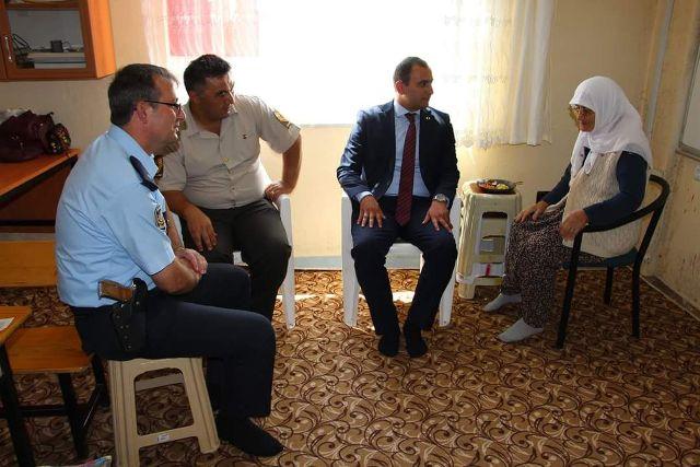 Doğanhisar Kaymakamı Abbasoğlu'ndan Kur'an kursuna ziyaret