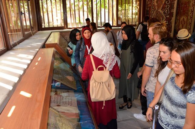 Büyükşehir, Uluslararası Türkoloji Öğrencilerini Ağırladı
