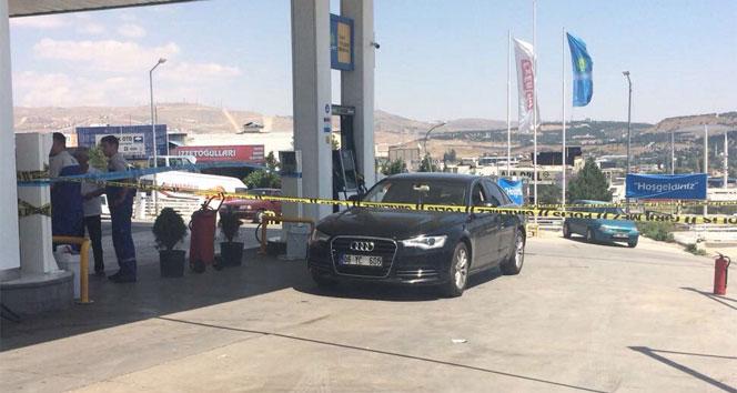 Bidonla benzin satmayan istasyonun müdürünü vurdular