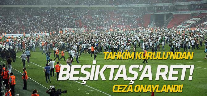 Tahkim Kurulu'ndan Beşiktaş'a ret! Ceza onaylandı!