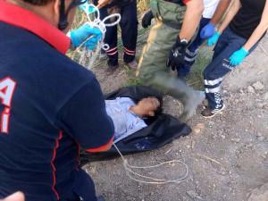 Konya'da Tahliye Kanalına Giren İki Kişi Boğuldu