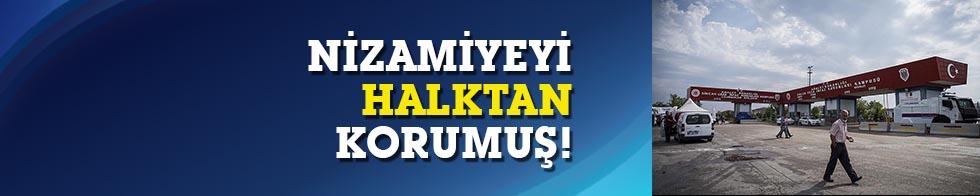 Ali Eraslan,15 Temmuz'da  nizamiyeyi halktan korumuş!