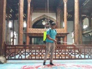 Beyşehir'de camiler gül kokuyor