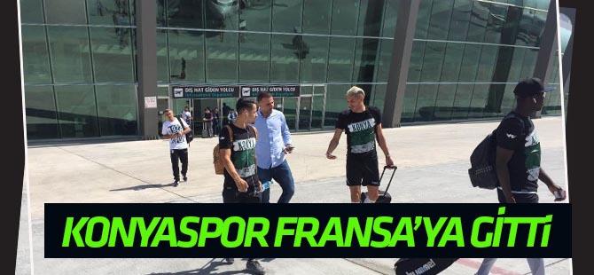 Atiker Konyaspor, Fransa'ya gitti