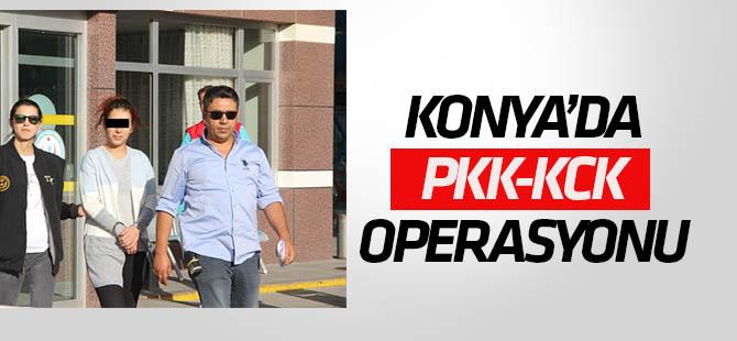 Konya'da PKK  Operasyonu: 11 Gözaltı