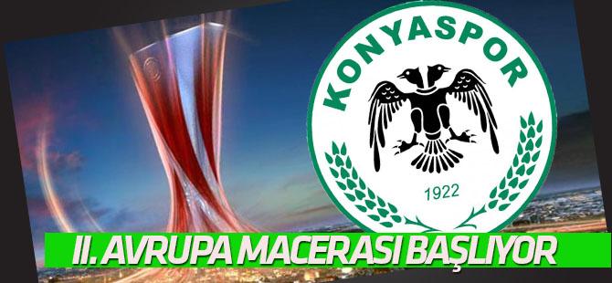 Atiker Konyaspor'un Avrupa mesaisi başlıyor