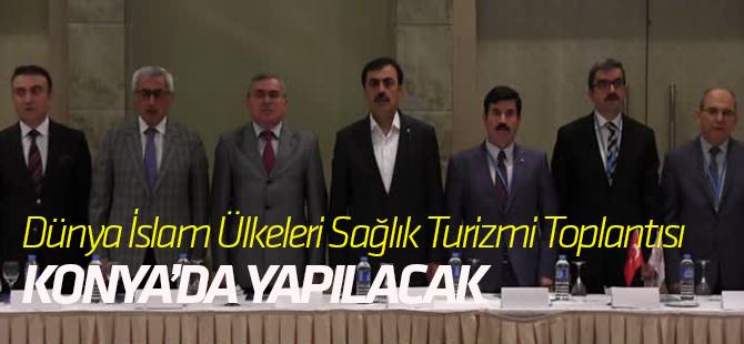 """""""2018 Dünya İslam Ülkeleri Sağlık Turizmi Konseyi""""nin martta Konya'da yapılacak"""