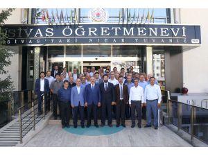 """Sivas'ta """"değerler eğitimi"""" protokolü tanıtıldı"""