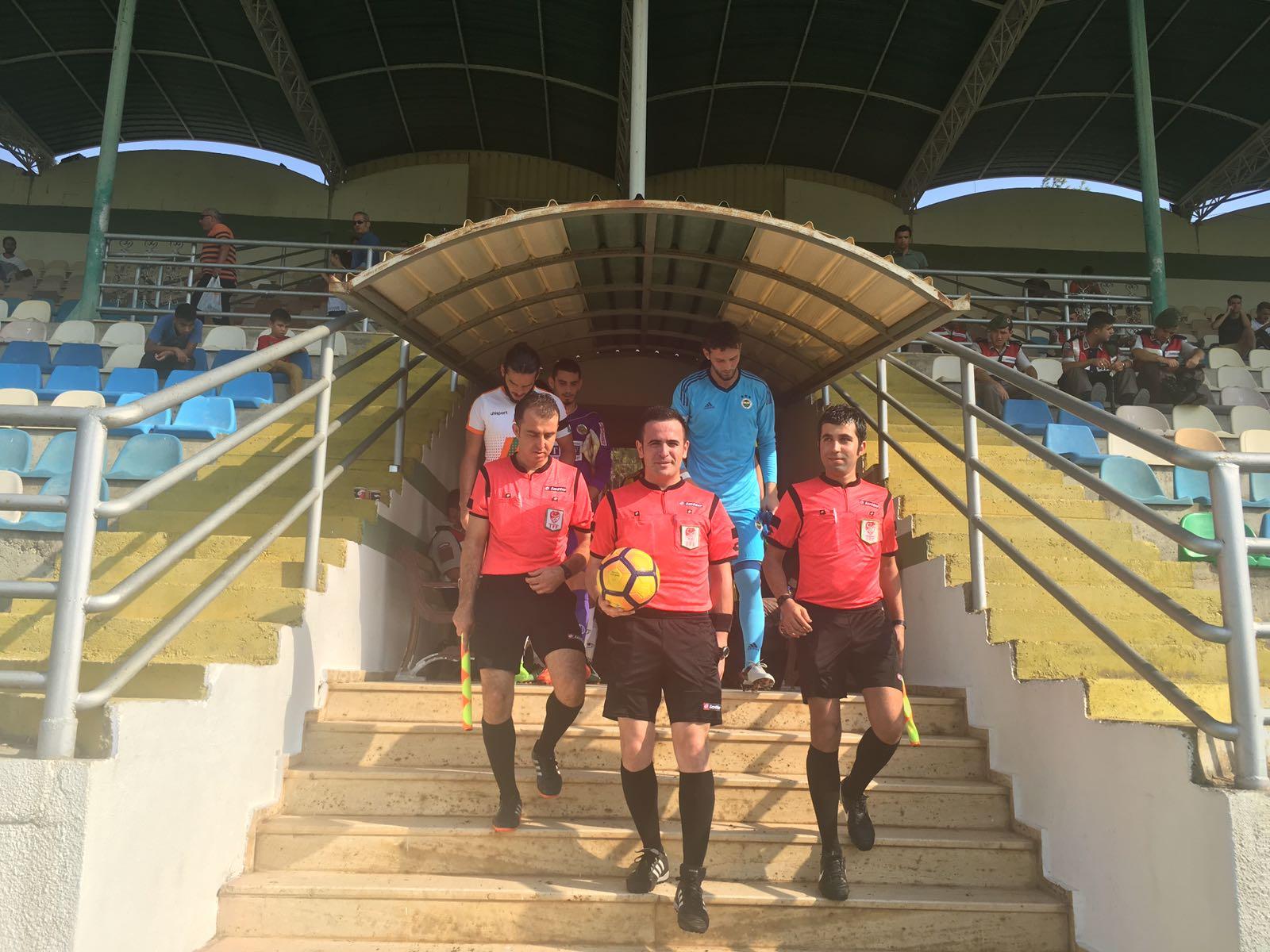 Ramazan Doğanay Alanyaspor-Fenerbahçe U21  maçını yönetti