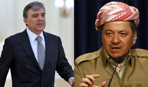 """Gül'den, Barzani'ye Türkçe-Arapça-İngilizce uyarı! """"Bu tür emrivakiler..."""""""