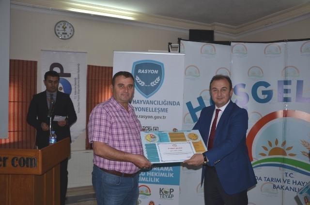 Konya Hayvancılığında Rasyonelleşme Projesinin Tanıtımı Nevşehir'de Yapıldı