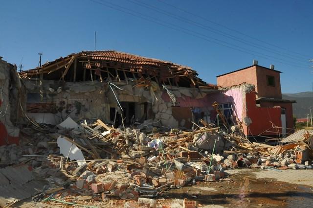 Akşehir genelevi yıkıldı