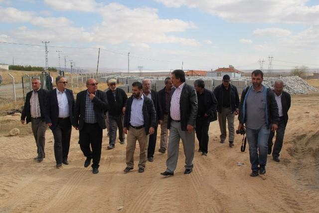 Cihanbeyli Belediyesinden Şereflikoçhisar'a altyapı desteği