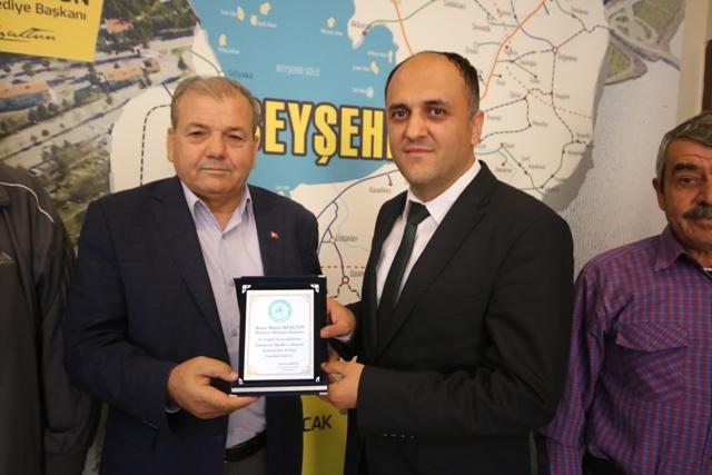 Kayabaşılılar'dan Başkan Özaltun'a teşekkür ziyareti