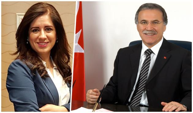 TBMM eski Başkanı Şahin sekreteri Zuhal Fırat'la evleniyor!