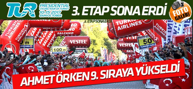 Cumhurbaşkanlığı Türkiye Bisiklet Tur'unda 3. etap sonuçları