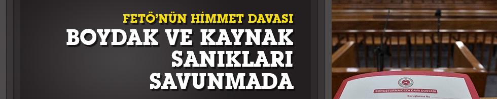 """""""FETÖ'ye himmet"""" davası:Mahmut Sami Boydak savunma yaptı"""