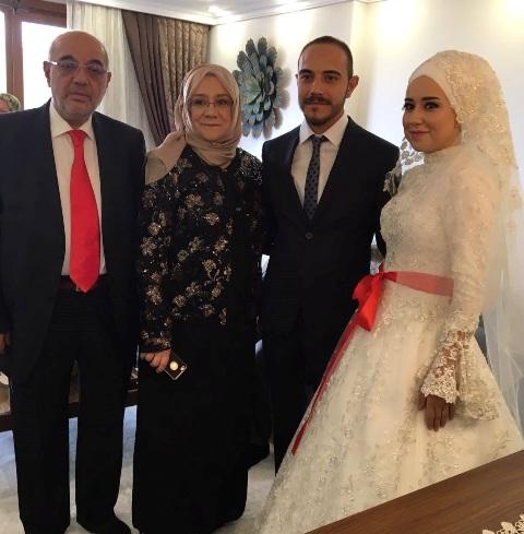 Bahattin Özler Kızını evlendirdi