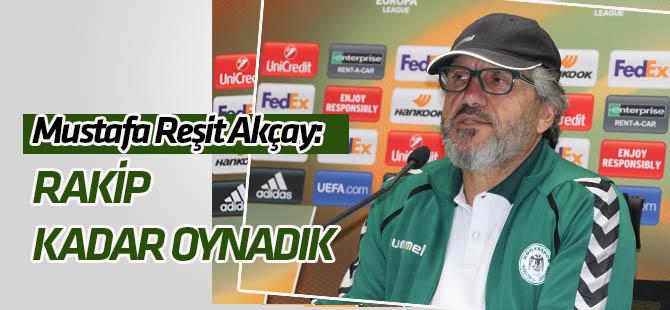 Mustafa Reşit Akçay'dan Salzburg maçı değerlendirmesi