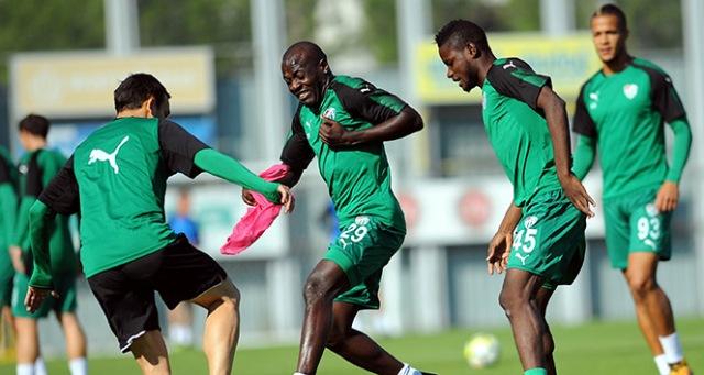 Bursaspor, Atiker Konyaspor maçının hazırlıklarına başladı